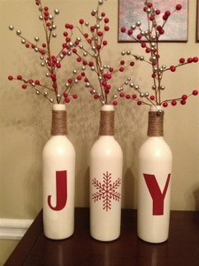 44 Simple Diy Wine Bottles Crafts And Ideas Homesthetics Net 1