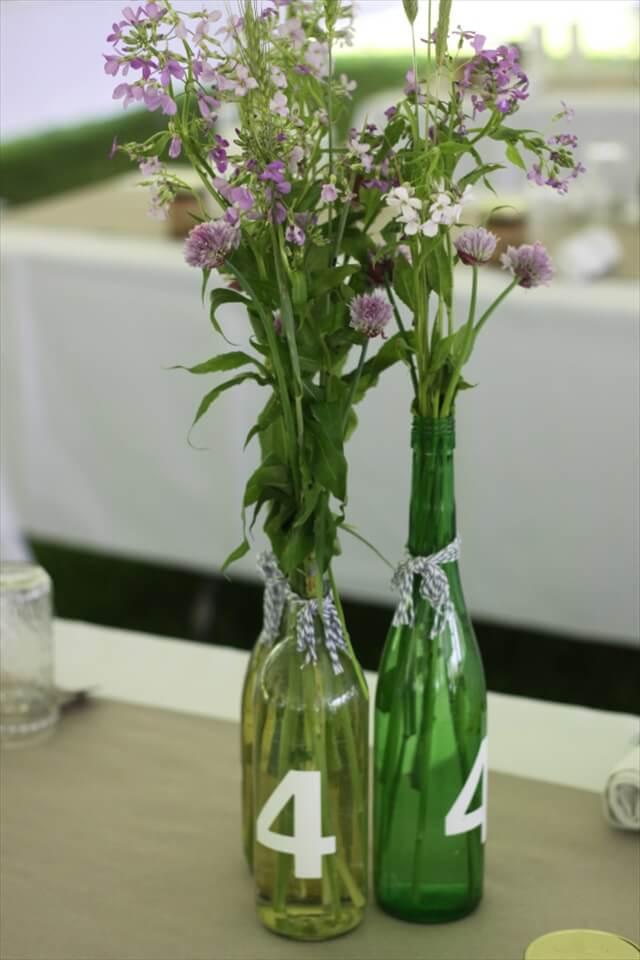 28 Diy Stunning Wine Bottle Centerpiece Diy To Make