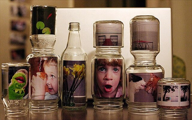 10 DIY Glass Jar Photo Frames  Gift Ideas  DIY to Make