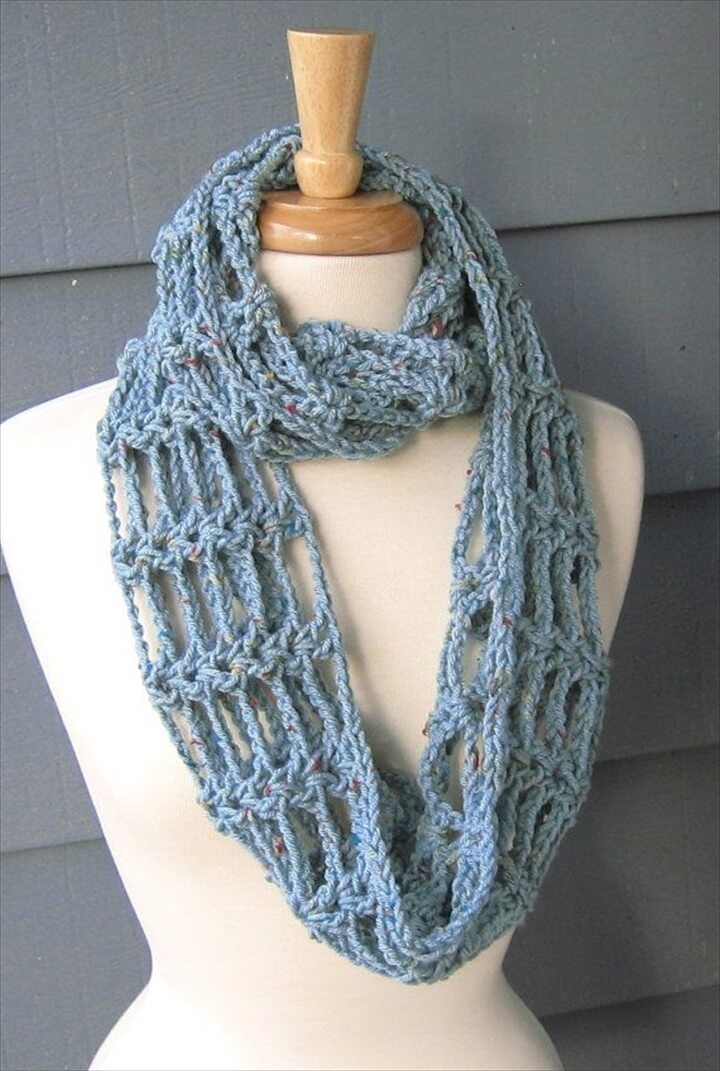 32 Super Easy Crochet Infinity Scarf ideas