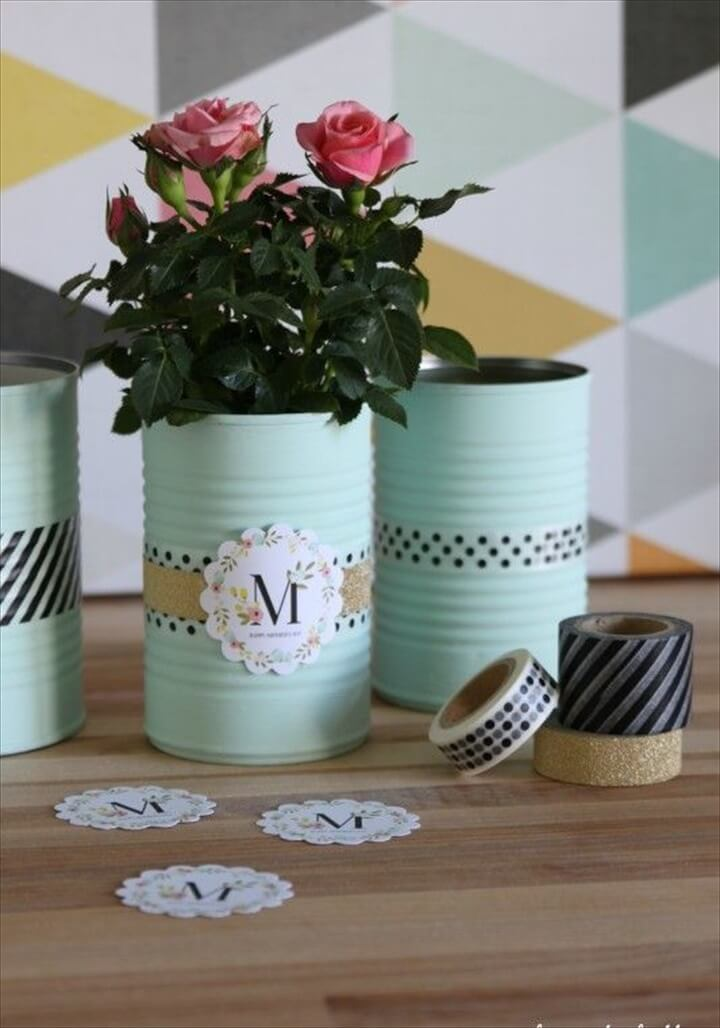 34 DIY Easy Tin Can Crafts Projects  DIY to Make
