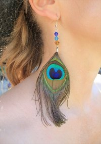 25 DIY Feather Jewelry Design | DIY to Make