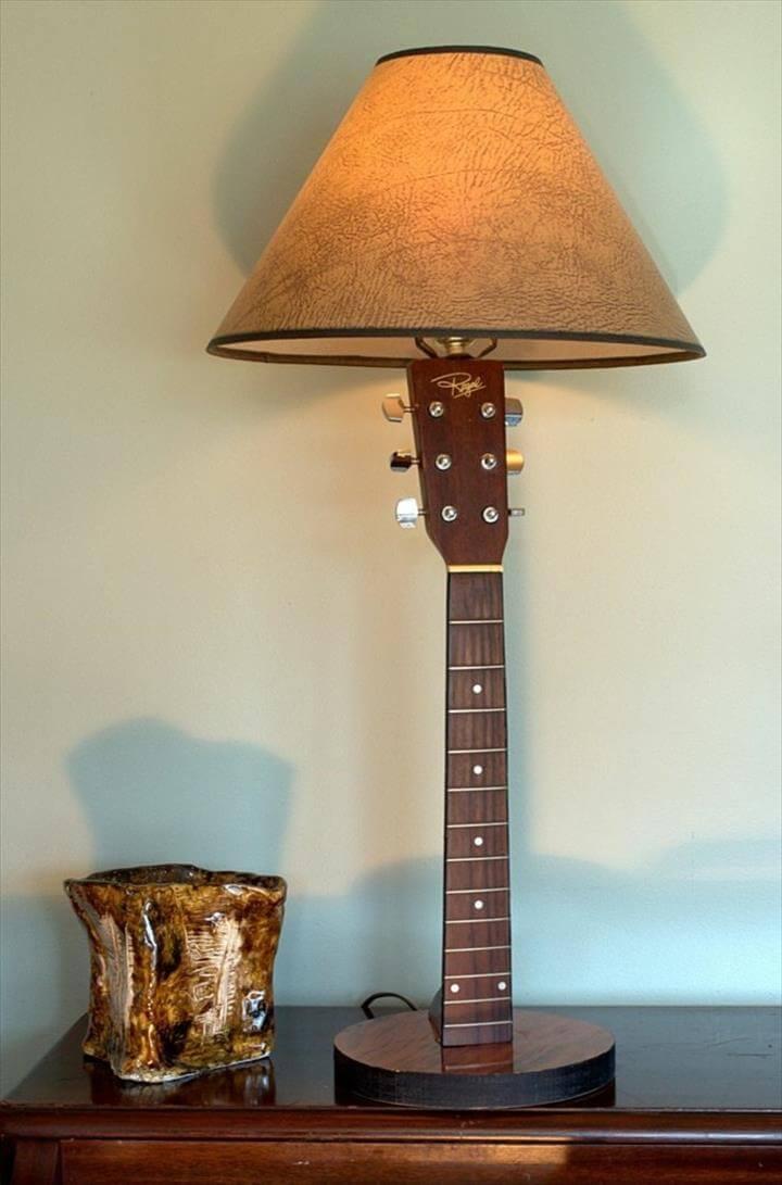15 Diy Old Guitar Ideas