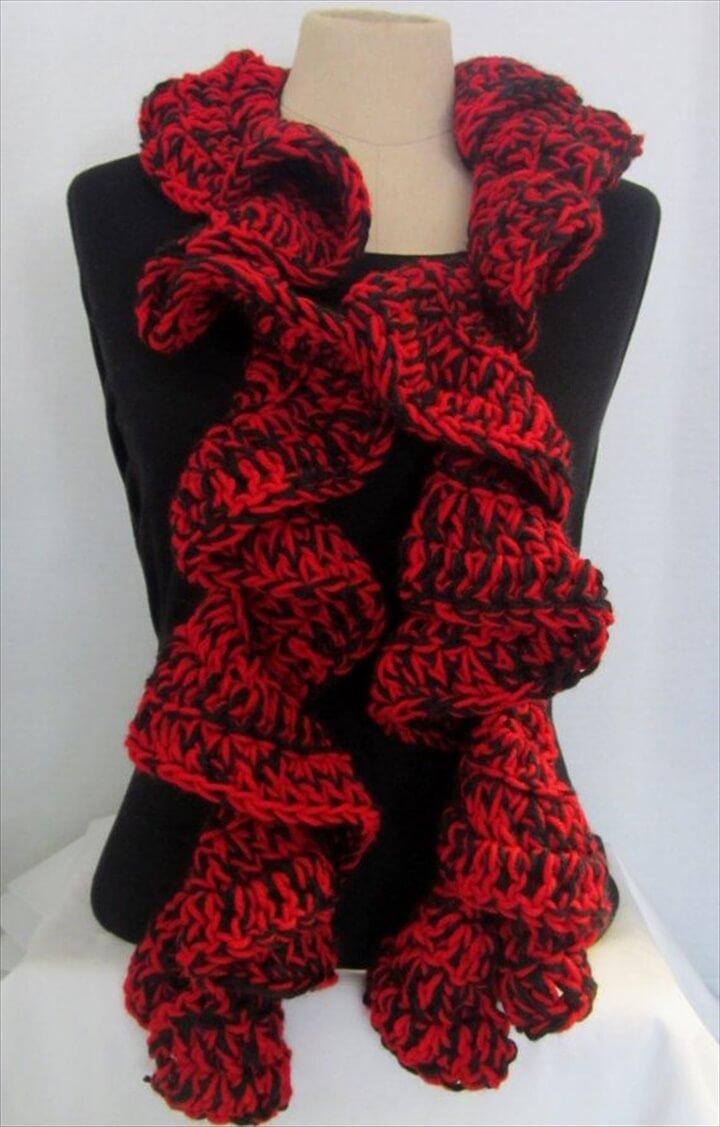 27 Quick & Easy Crochet Scarf