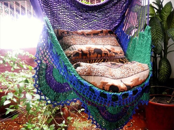 15 Crochet Hammock Free Patterns  DIY to Make