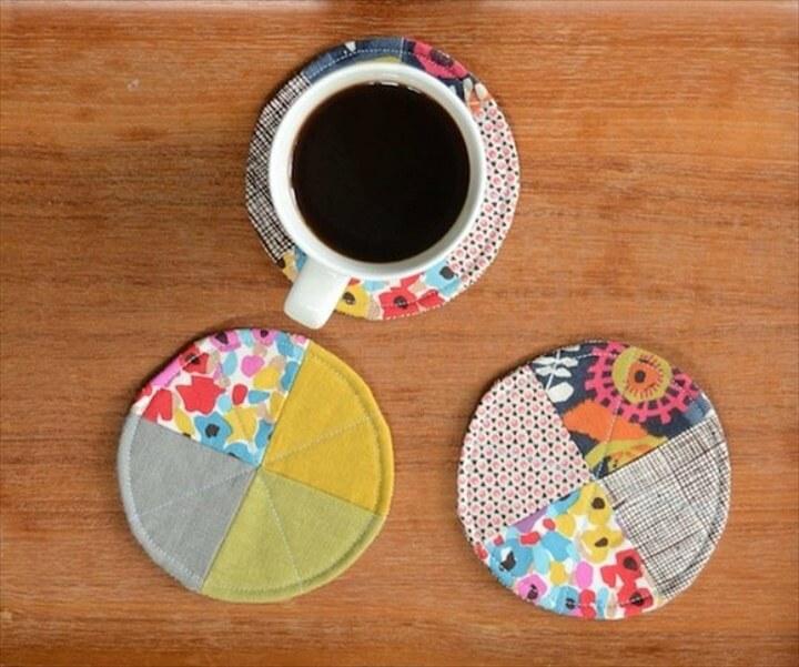 24 DIY Unique Coasters Ideas