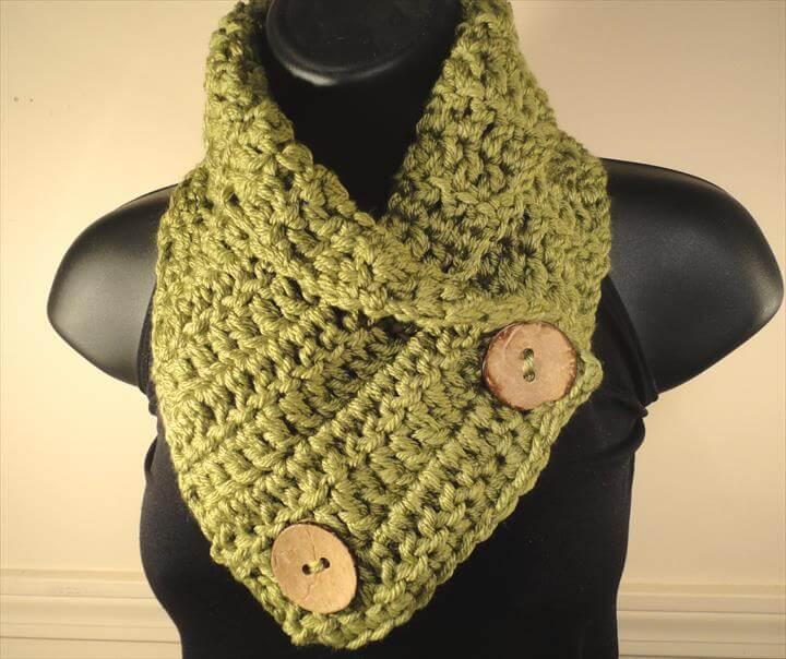 26 Easy  Free Crochet Neck Warmer Patterns