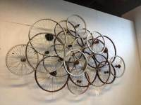 32 Recycled Bike Into An Amazing Arts & Design