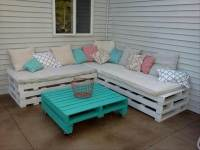 22 Cheap & Easy Pallet Outdoor Furniture | DIY to Make