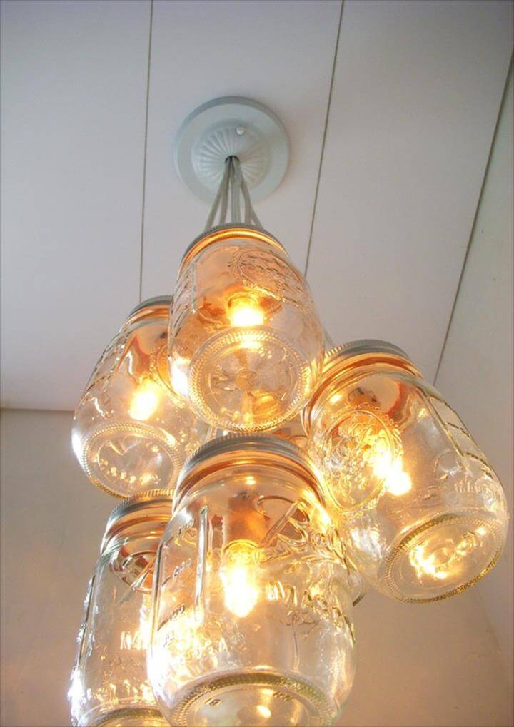 35 Mason Jar Lights Do It Yourself Ideas