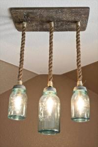 35 Mason Jar Lights Do It Yourself Ideas | DIY to Make