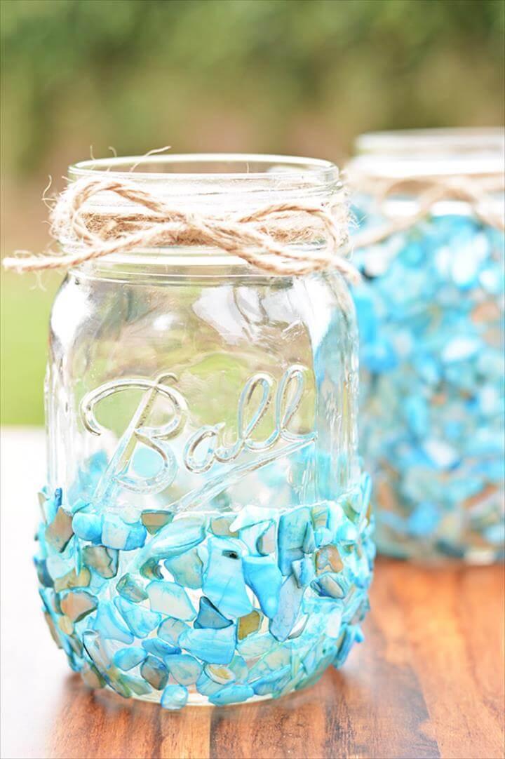 Mason Jar Crafts For Weddings