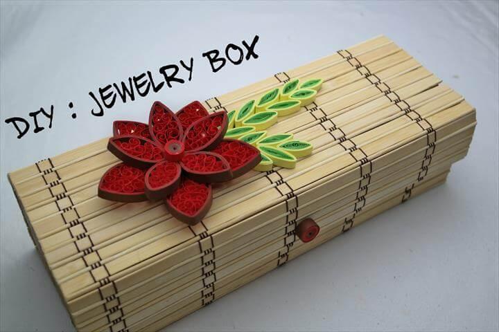Top 17 Unique Handmade Jewelry Box Ideas DIY To Make