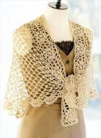 18 Quick & Easy Crochet Shawl Pattern