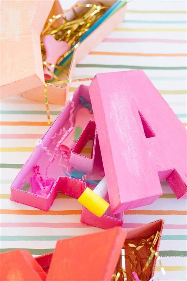 20 Amazing EyeCatching DIY Letters  DIY to Make