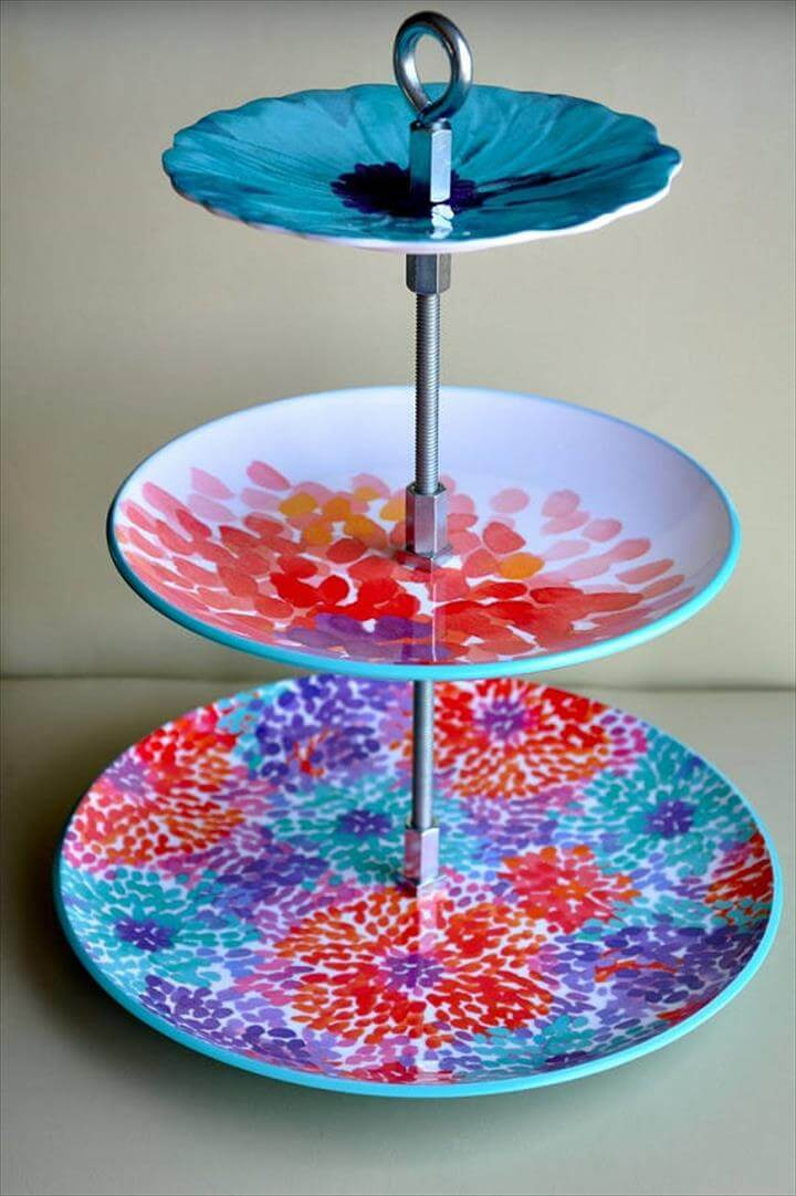 14 Amazing Diy Cool Cake Stand Ideas Diy To Make