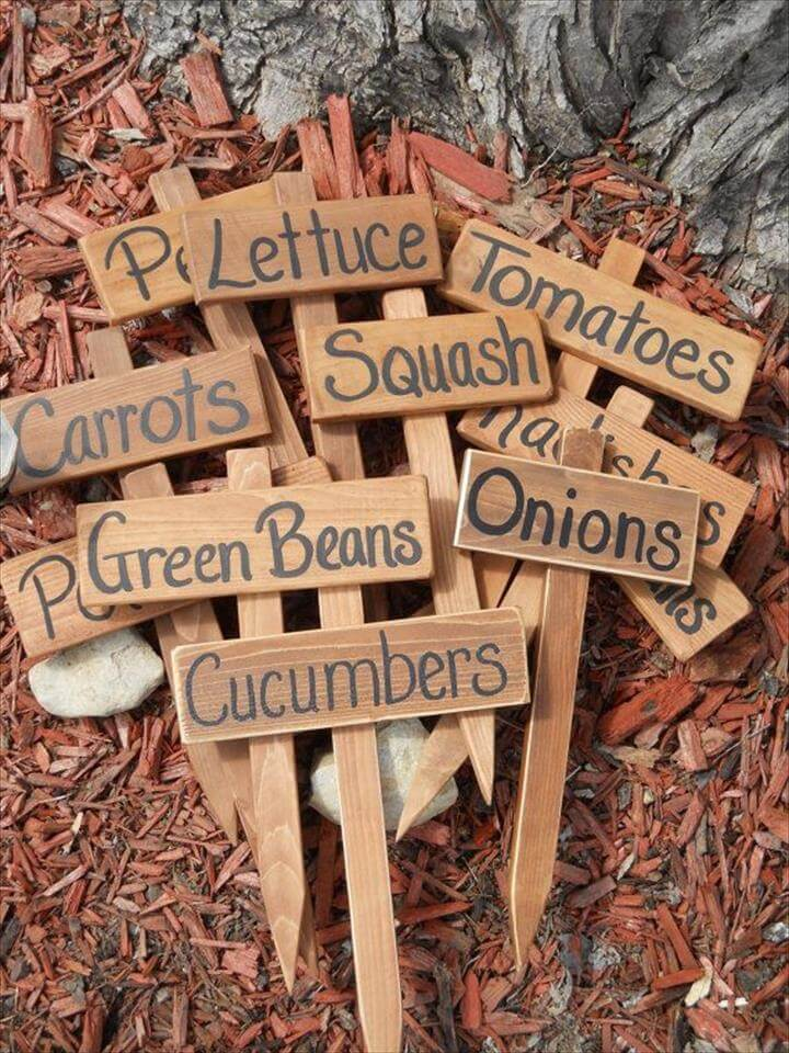 20 Easy Handmade Plant Label  Marker Ideas  DIY to Make