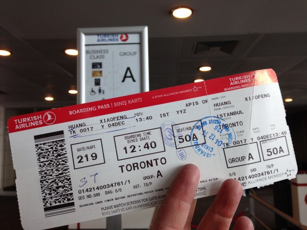 Priority Boarding with Turkish Airlines