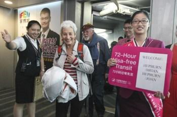 72 Hrs Visa Free Transit
