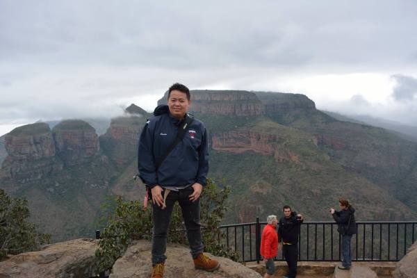 Taken on a rainly day at the Blyde River Canyon