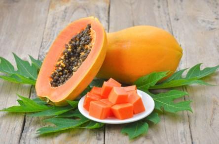 Papaya For Brown Spots