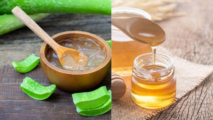 Aloe Vera And Honey Scrub