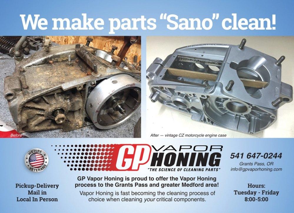 medium resolution of gp vapor honing cz forks new diy vintage moto damping rod with racetech gold valve emulators