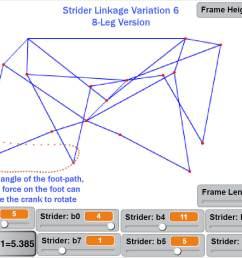 motor less strider ver 2 walking passively [ 1066 x 800 Pixel ]