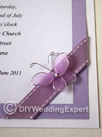 Diy Couture Erfly Wedding Invitations