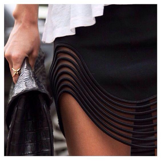 Ideas para alargar faldas