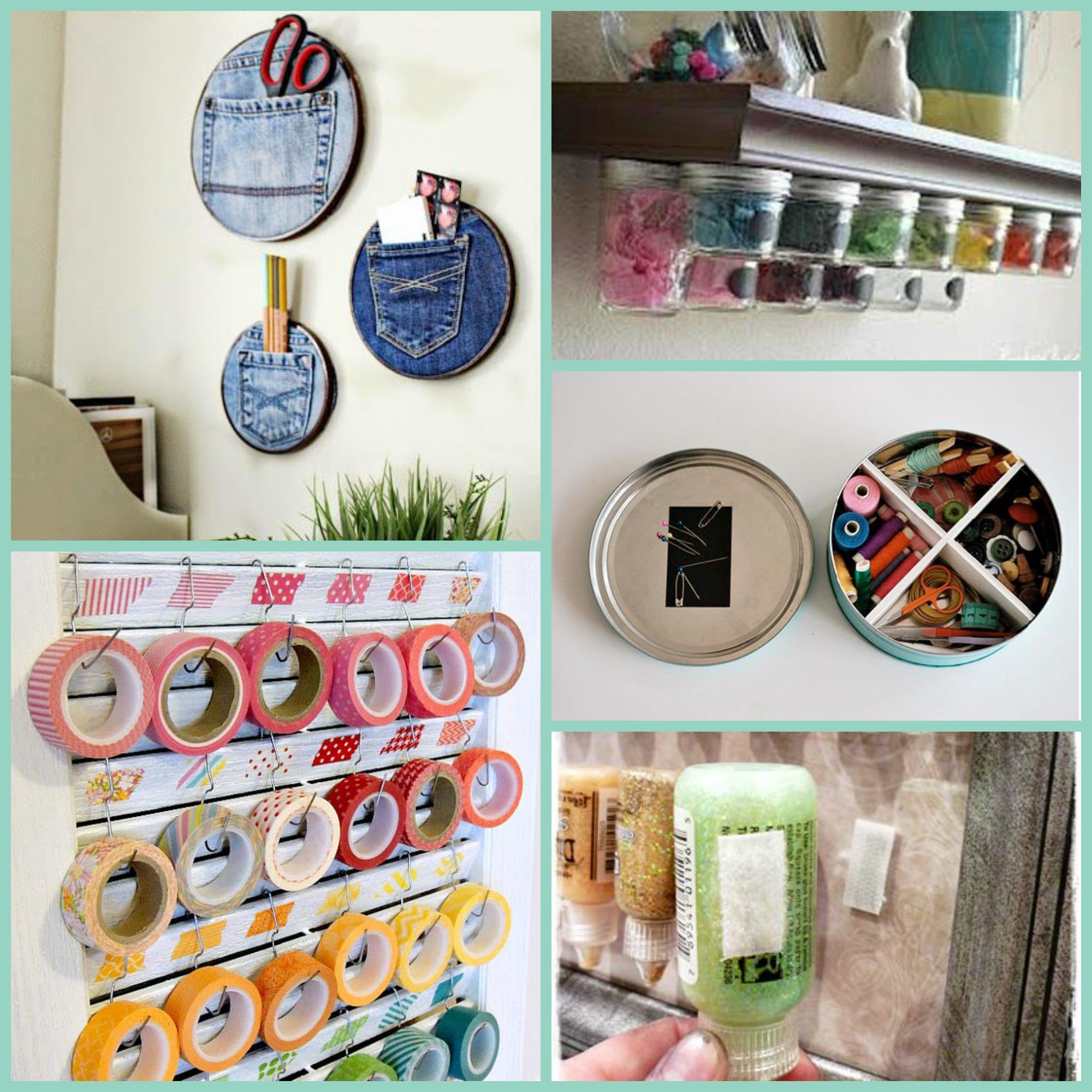 INSPO – Ideas para organizar vuestro cuarto de costura – DIY with ...