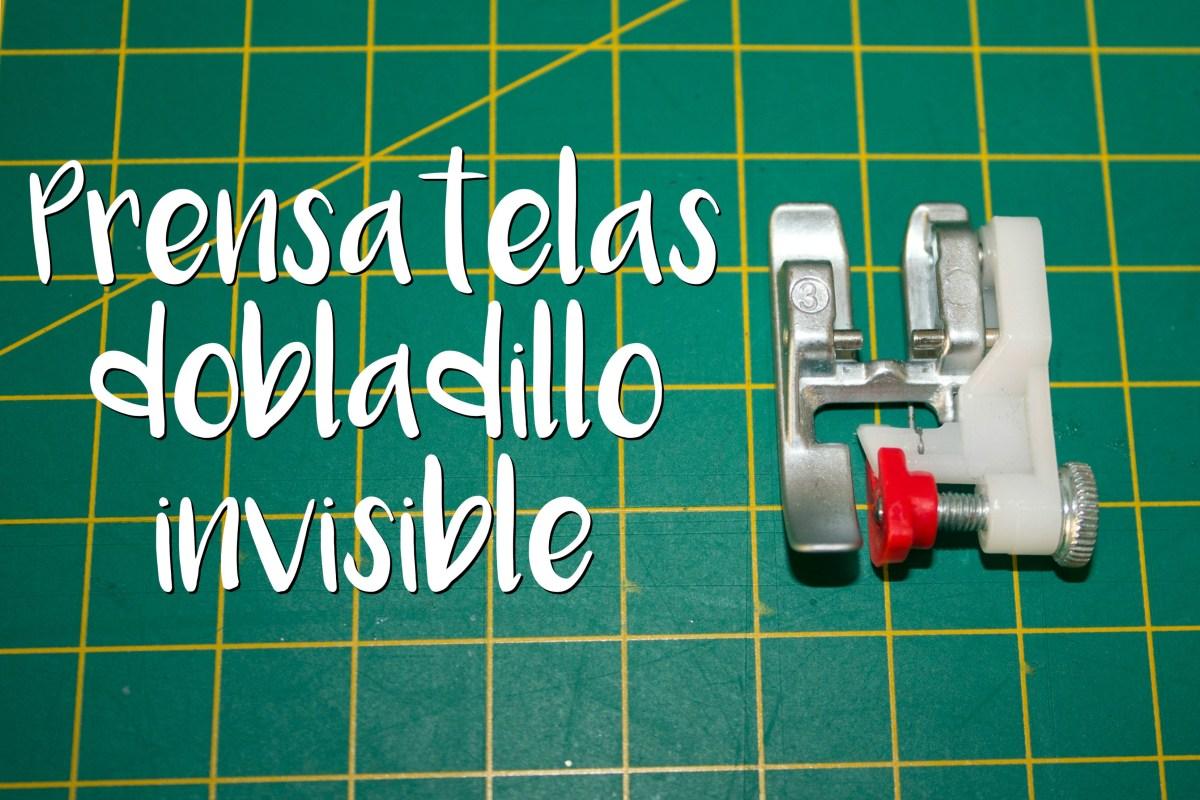 Trucos de Costura - Cómo hacer un dobladillo invisible con la máquina de coser