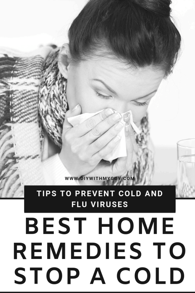 How to prevent the common cold and flu. How to stop a cold in the first 24 hrs.