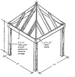 (Page 2) Free Plans to Build a Gazebo