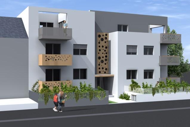 višestambena zgrada Malešnica varijanta 2