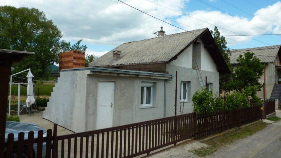 Staro stanje kuće prije rekonstrukcije