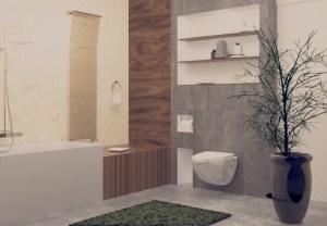 Kupaonica 3d prikaz