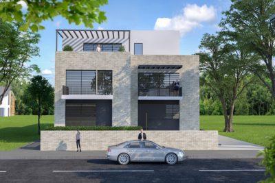 Apartment building – Jarun, Gredice