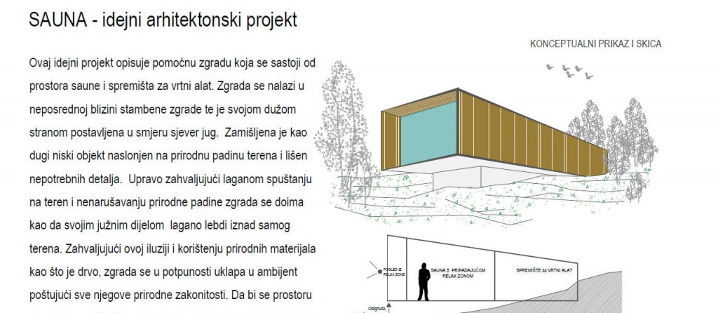 Projekt saune