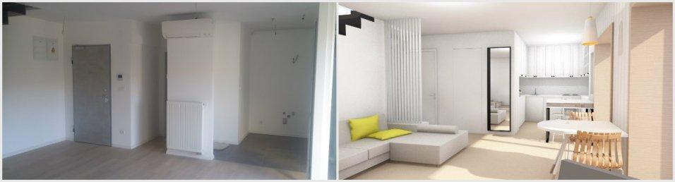 uređenje novog stana prije i poslije