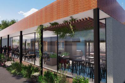 Projekt restorana u industriji