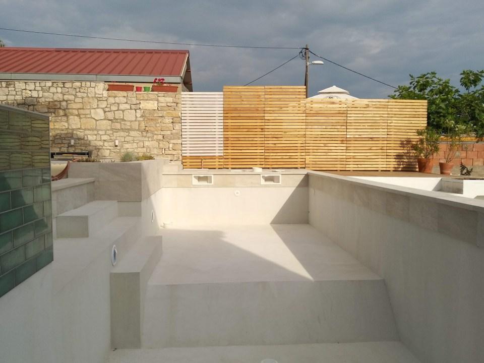 Završni sloj betonskog bazena