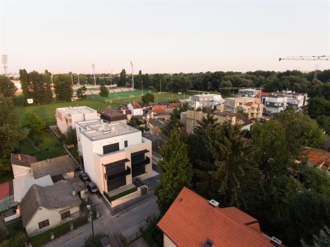 Zgrada pogled iz zraka