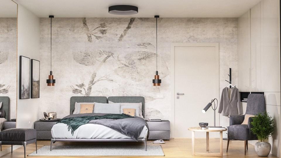 uređenje spavaće sobe 3d vizualizacija