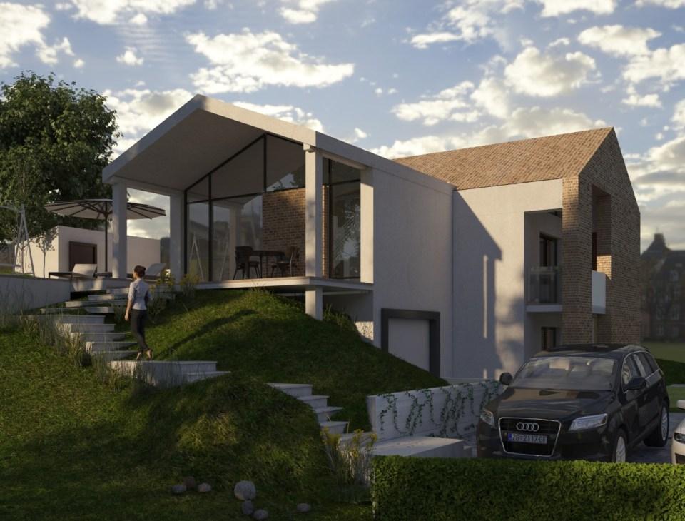 Vizualizacija ulaznog dijela kuće