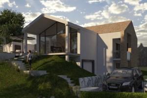 Hillside house in Zagorje
