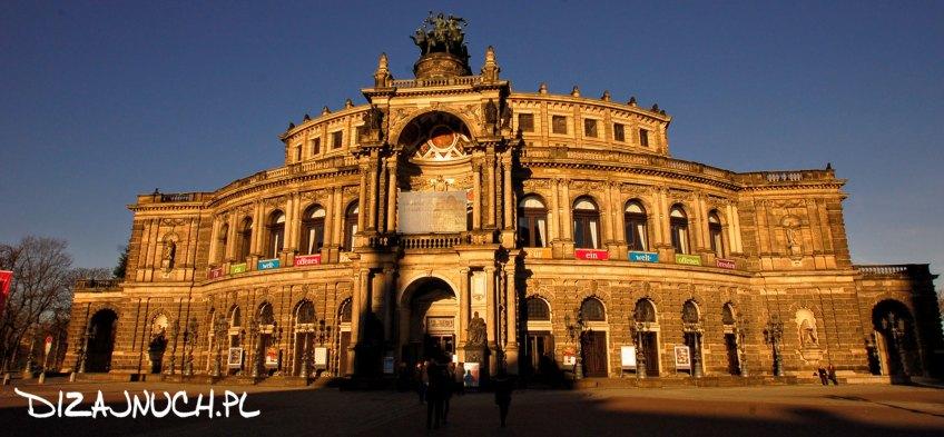 dizajnuch Drezno Theaterplatz Semperoper Dresden