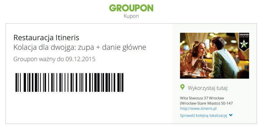 dizajnuch - kupon z groupon do Itineris