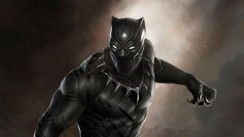 Kapitan Ameryka Czarna Pantera