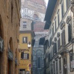 Old town Florence view